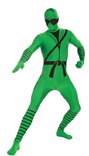 I'm Invisible Costume Stretch Body Suit, Ninja Print, Chi...