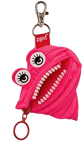 ZIPIT Monster Mini Pouch/Coin Purse, Dazzling Pink