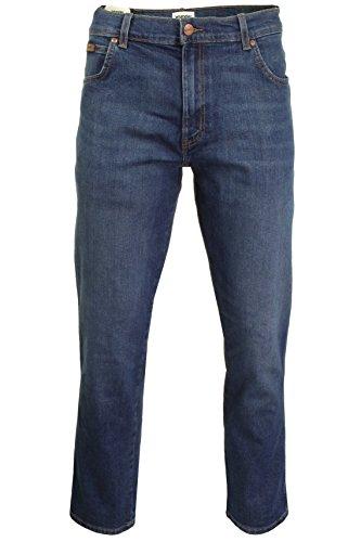 Wit Original Straight Wrangler Texas Indigo Jeans Uomo xSz771qPw
