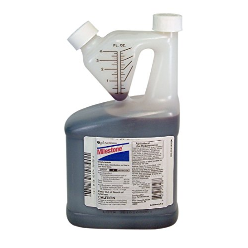 Milestone Specialty Herbicide with Aminopyralid for Noxious and Invasive Weeds-Quart 6666085