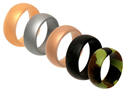 Silicone Wedding Ring men Antibacterial