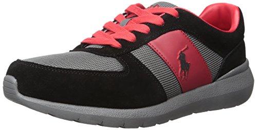 Polo Ralph Lauren Mens Cordell Sneaker Nero