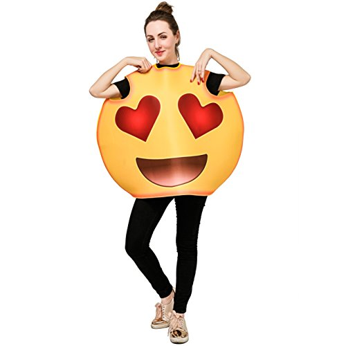 Original Halloween Costumes For A Group (DSPLAY Emoticon Costumes for Unisex Adult OneSize)