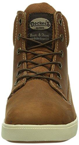 alto 007051 Reh Dockers 051 350500 Braun collo Sneaker Marrone Donna a RAnqTw