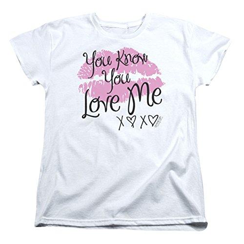 Gossip Girl You Love Me Short Sleeve Womens Tee Shirt
