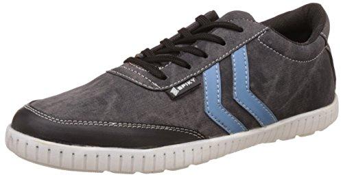 Spiky Men's Black Sneakers - 9 UK/India (43 EU)(SPS7017)