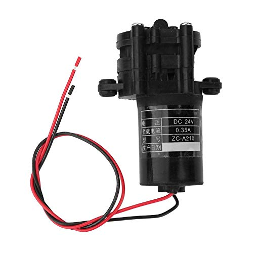 12/24V Submersible Pump Micro DC Solar High Temperature Corrosion Resistant Water Pump(24V)