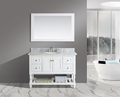 UrbanFurnishing net 48 Inch Bathroom Italian Carrara