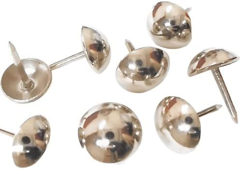 LARGE DOME FASTENER UPHOLSTERY TACKS furniture nails crafts studs wood W1-283