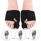 DOACT Bunion Corrector Big Toe Splint Brace Toe Straighteners Nighttime Toe Separator Bunion Pain Relief for Hallux Valgus, Overlapping Toe, Turf Toe