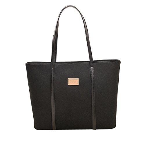 Naovio Women Canvas Tote Travel Basic Shoulder Bag Luggage Large Capacity Beach Bag