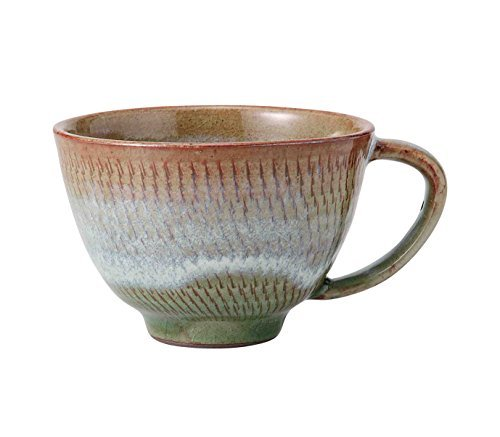 Hasami Yaki Shiroyuzu Brown 4.1inch Set of 3Medium Bowl Porcelain Made in Japan