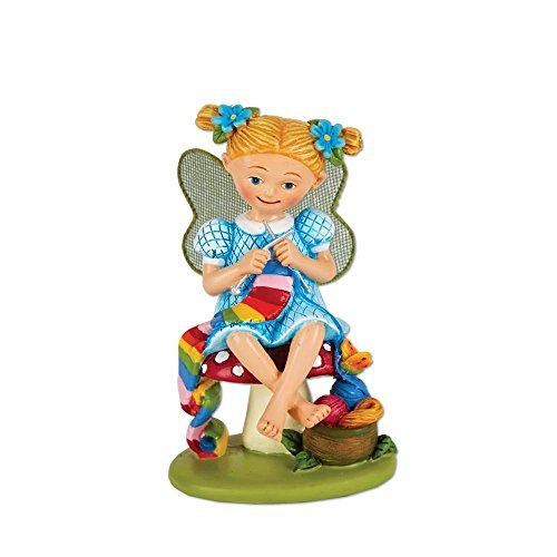 Studio M Merriment Collection Minature Garden Fairy Statue, 3.5-Inches, Charlotte Craft Fairy Review