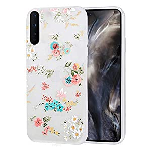 Enflamo Back Cover for OnePlus Nord(Thermoplastic Polyurethane/White)