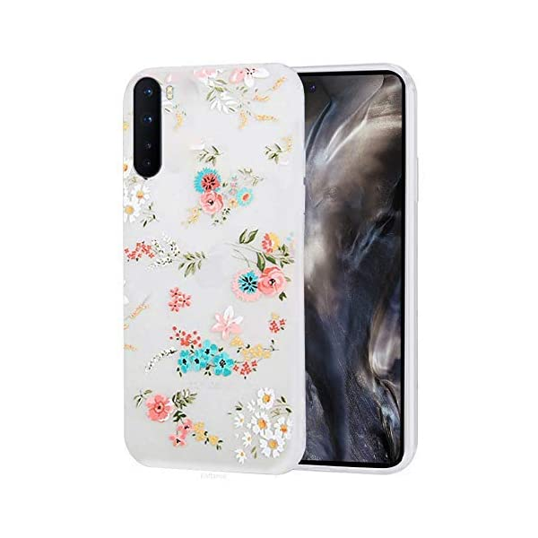 Enflamo Back Cover for OnePlus Nord(Thermoplastic Polyurethane/White) 2021 August Unique 3D relief pattern: art design use the most advanced technology, colorful, never fade Durable partner: ultra slim design with soft TPU and silicone material well display the perfect shape of your Phone, non slip, not bulky, slim, great tactile feel, flexible cover Friendly design: easy press and access to all phone buttons.best structure design make the cover like a glove, fits tight to the phone, but easy to remove as well.