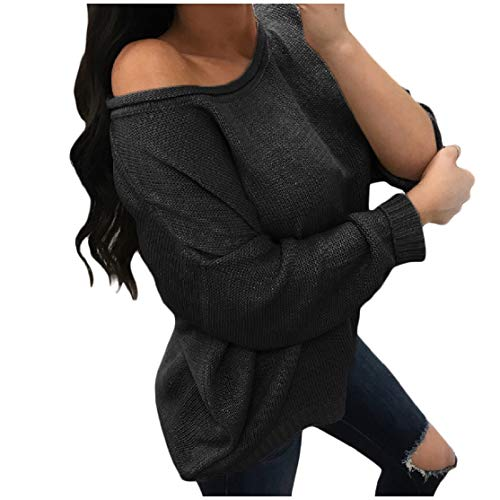 Used, Color&W Womens Knitting Chic Soft Pure Loose Home Long-Sleeve for sale  Delivered anywhere in Canada