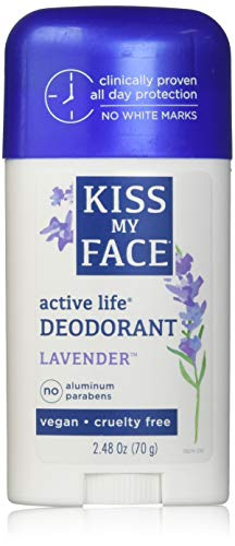 Fragrance Active Enzyme (Kiss My Face Active Enzyme Stick Deodorant - Lavender, 2.48 oz)