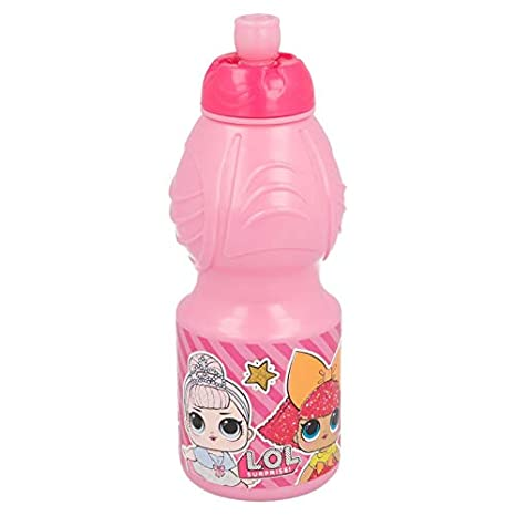 Stor - Botella Sport LOL Surprise, 400 ml, Rosa: Amazon.es: Juguetes y juegos