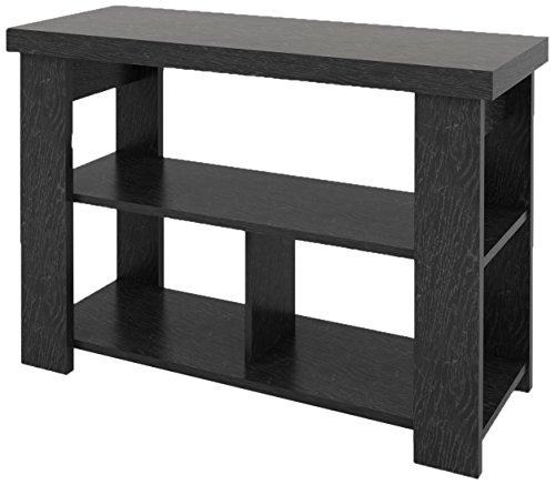 (Ameriwood Home Jensen Console Table, Black Ebony Ash)