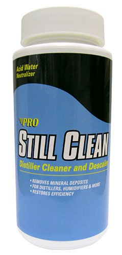 USM PRO STILL CLEAN MADE IN USA. FOR DURASTILL DISTILLERS & OTHER BRANDS. PRO STILL-CLEAN DISTILLER CLEANER AND DESCALER FOR DURASTILL DISTILLERS, WATER-WISE, PURE WATER & SIMILAR BRANDS AS WELL FOR COFFEE MAKERS, DEHUMIDIFIERS, IRONS . REMOVES MINERAL DEPOSITS FOR DISTILLERS, HUMIDIFIER AND MORE. FREE SHIPPING UP-GRADE TO PRIORITY MAIL. MADE IN USA. USM