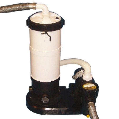 SplashNet 1.5 HP DE Filter Pump for Above Ground Pools