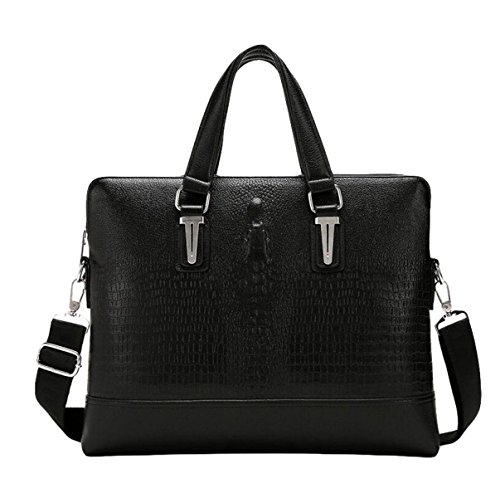 Bolsos De Hombro Bolso De Hombro Bolsa De Mensajero Business Pack Simple Fashion Black1
