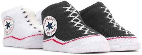 CONVERSE ALL STAR Baby Sock Booties (2 Pack) 0 6 Months