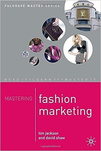 Book Mastering Fashion Marketing (Palgrave Master Series) by Tim Jackson (2009-02-15)