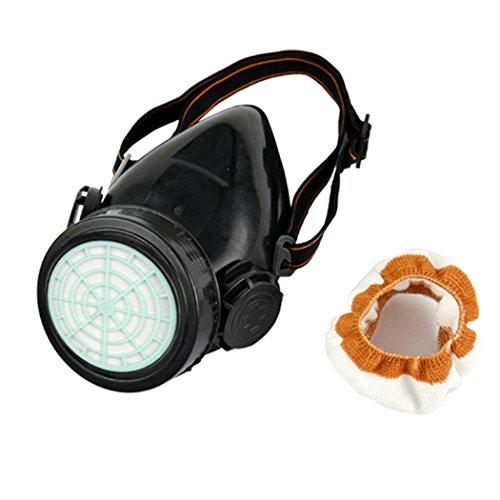 Cibo Respirator Gas Mask Safety Anti-Dust Chemical Paint Spray Single Cartridge