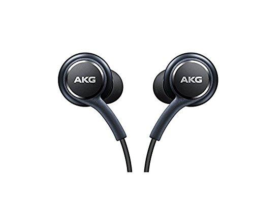 Black AKG Samsung Earphones Headphones Headset Handsfree For Samsung Galaxy S8 & S8 Plus+ in Bulk Packaging