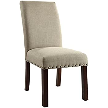 Amazon Com Homepop Parsons Classic Dining Chair With