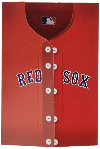 Amscan Boston Red Sox Major League Baseball Collection Party Invitation & Thank You Card Set, 192 Ct.