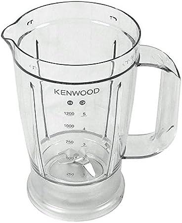 Kenwood - Jarra batidora con cuchillas para robot de cocina FDP30 FDP300 FDP301 FDP302 WH SI: Amazon.es: Hogar