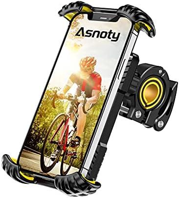 Asnoty Bike Phone Mount Holder, 360° Rotatable...