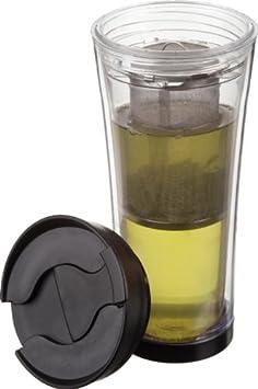Trudeau Tea-Mendous 16-Ounce Tea Tumbler, Clear 0872035AZ 2684393
