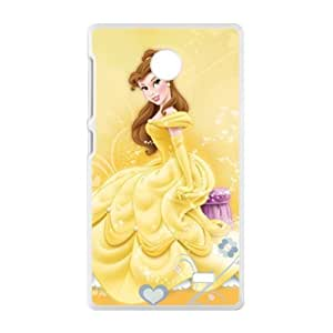 HWGL Beauty and the Beast lovely girl Cell Phone Case for Nokia Lumia X