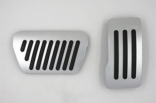 Brake Pedals For Mitsubishi Outlander Sport ASX No dirll AT Gas Fuel Brake Aluminum 2Pcs SLONG