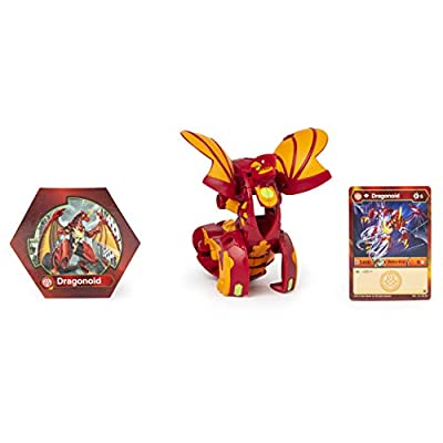 Bakugan BTB Deka Dragonoid Red GBL: Toys & Games