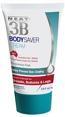 Neat Feat 3B Body Saver Skin Chafing Antiperspirant Cream, 2.6 Fluid Ounces by Neat - Saver Body