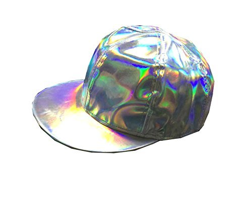 Marty Mcfly Hat Rainbow Cap Adjustable Back to the Future Cosplay -