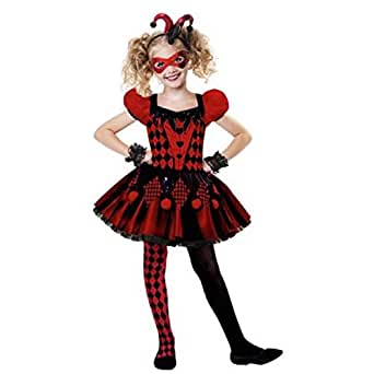 Harlequin's Child Halloween Costume (M (8-10))