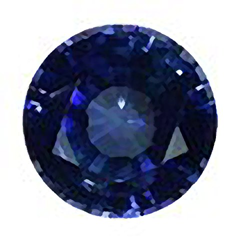 Blue Created Sapphire Loose Unset Gemstone 7mm (1)