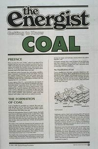 Coal Energist by National Energy Foundation