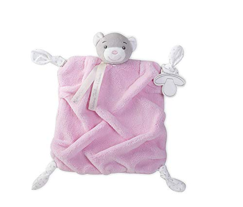 Kaloo Plume Doudou Bear - Pink ()
