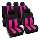 Best Cover Set For Hyundai - FH Group Stylish Cloth (Airbag & Split Ready) Review