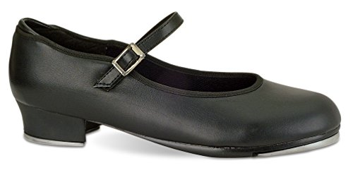 Danshuz Womens Value Strap Tap Mary Janes Flats Nero