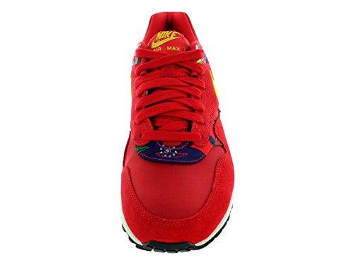 Nike Air Max 1 Print Universität Rot / tr yllw / sl / Schwarzes Laufschuh 10 Us