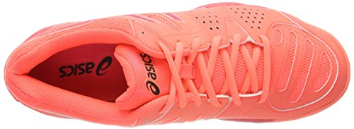 Gel Pro Multicolore Asics SG Flash Femme 3 Tennis Rouge Silver Coral Chaussures de Padel Red dZZrqWxp