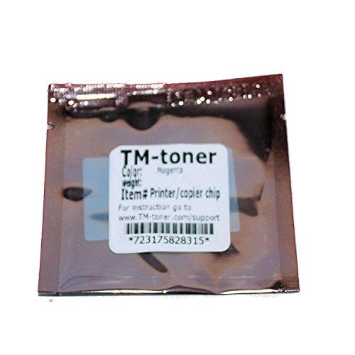 TM-toner © Replacement Magenta chip for A0310AF Imaging Unit Konica Minolta Magicolor 4650EN 4650DN 4690MF 5550 5570 5650EN 5670EN printer (Printer 5650en)