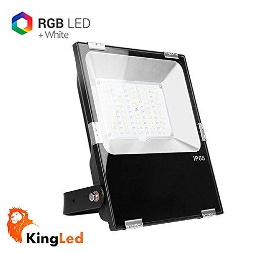 Mi-Light® FUTT02 Foco Proyector LED 50W RGB+CCT 2700K-6500K 220V ...